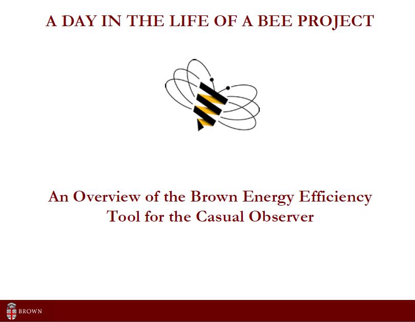 2011 brownu bee intro