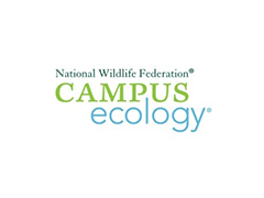 National Wildlife Federation, campus ecology logo, ISCN Member, International Sustainable Campus Network