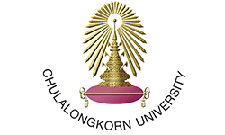 Chualongkorn University logo, ISCN Member, International Sustainable Campus Network