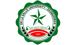 De la Salle University Dasmarinas logo, ISCN Member, International Sustainable Campus Network