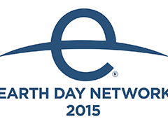 Earth Day Network 2015 logo, ISCN member, International Sustainable Campus Network