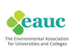 eauc logo, ISCN Member, the environment association for universities and colleges, International Sustainable Campus Network
