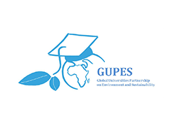 GUPES logo, ISCN member, International Sustainable Campus Network