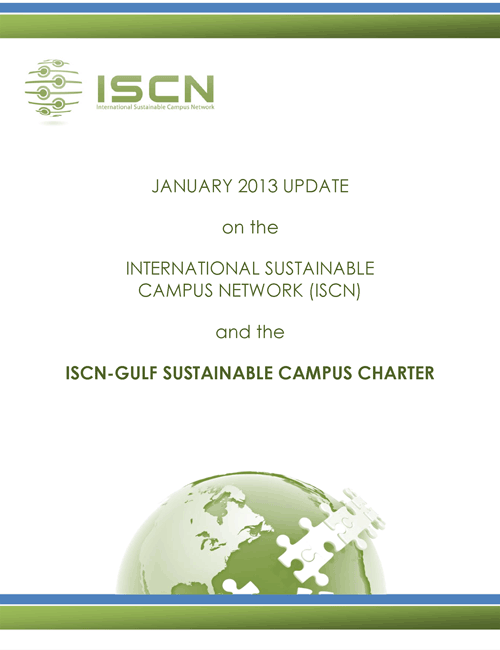 ISCN-GULF Sustainable Campus Charter 2013, International Sustainable Campus Network