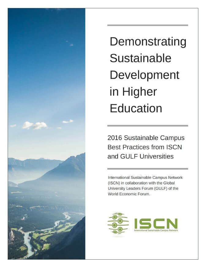 ISCN Sustainable Campus Best Practices, International Sustainable Campus Network