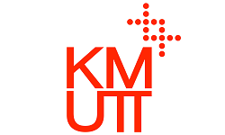KMUTT logo, ISCN Member, International Sustainable Campus Network