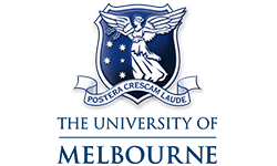 University of Melbourne logo, ISCN Member, International Sustainable Campus Network