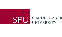 Simon Fraser University logo, ISCN Member, International Sustainable Campus Network