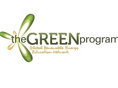 The Green Program logo, ISCN Member, International Sustainable Campus Network