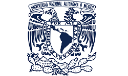 ISCN Member, UNAM logo, International Sustainable Campus Network